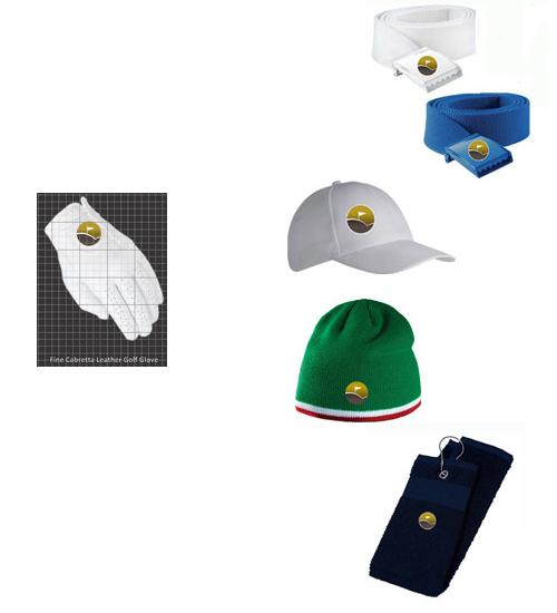 Glove + Belt + Hat + Towel