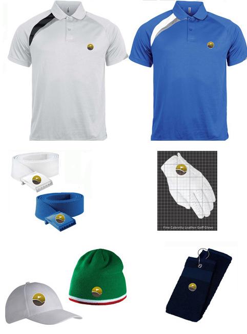 Polo + Belt + Glove + Hat + Towel