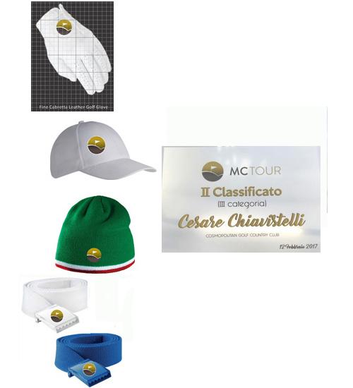 Targa + Glove + Hat + Belt